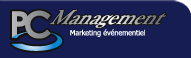 Logo PC Management - Marketing événementiel